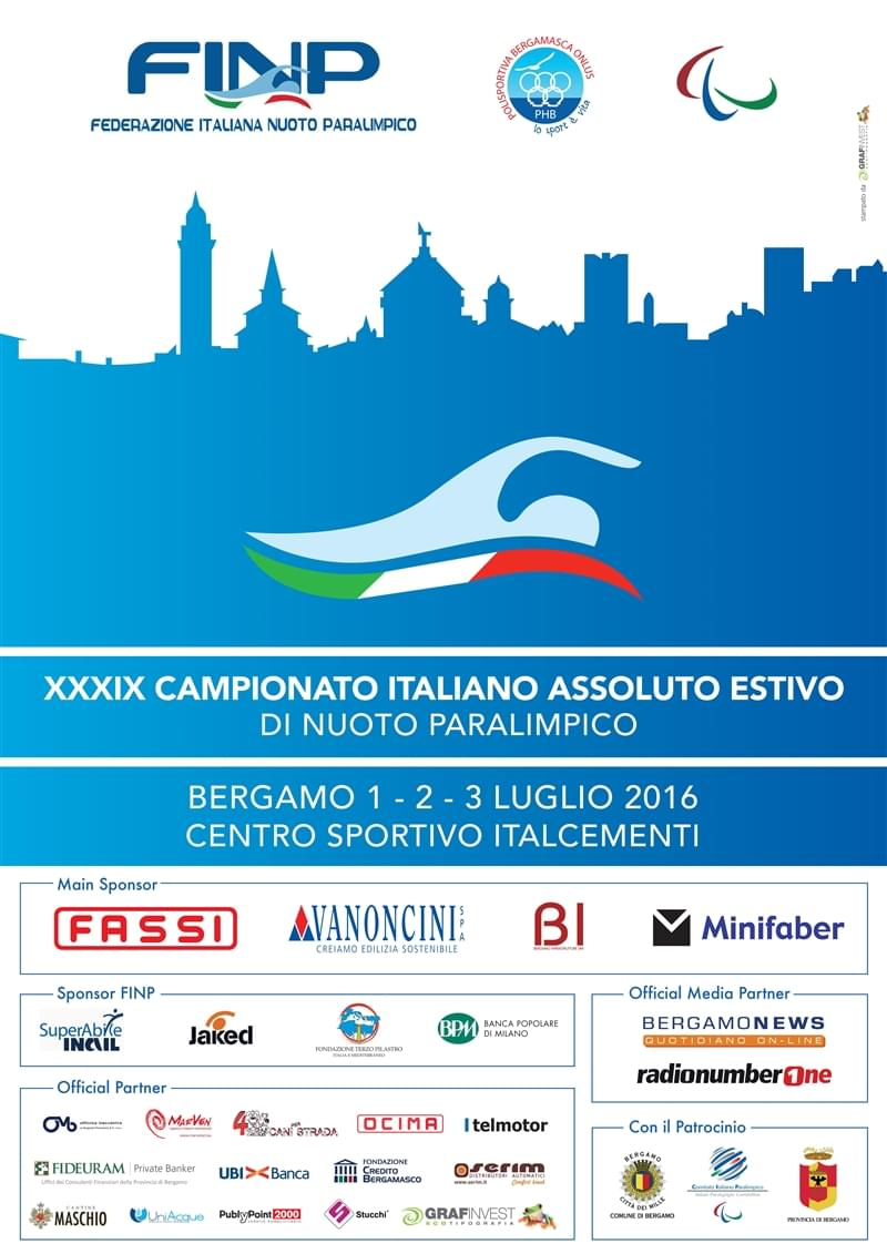 Locandina FINP campionato estivo