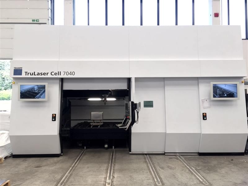 TRUMPF Taglio Laser 3D - Frontale