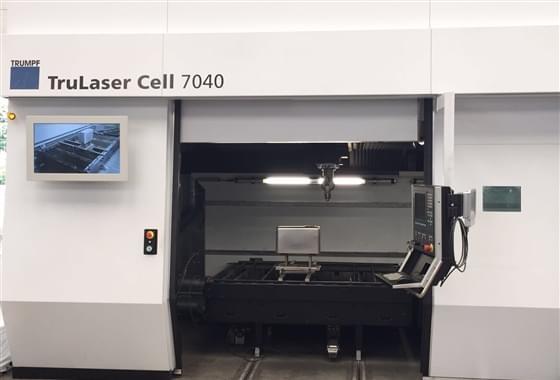 TRUMPF Taglio Laser - Interno